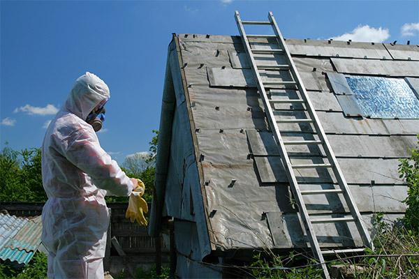 décontamination amiante